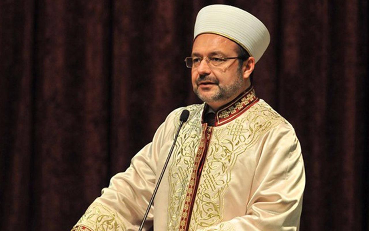 Mehmet Görmez Ahmet Davutoğlu'nu yeni partisinde yer alacak mı?