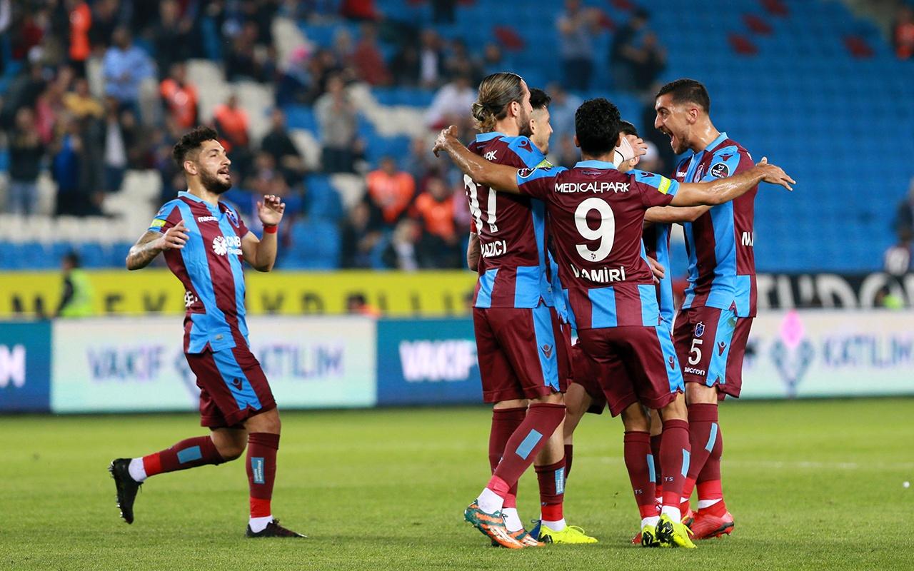 Trabzonspor Kayserispor maçı golleri ve geniş özeti