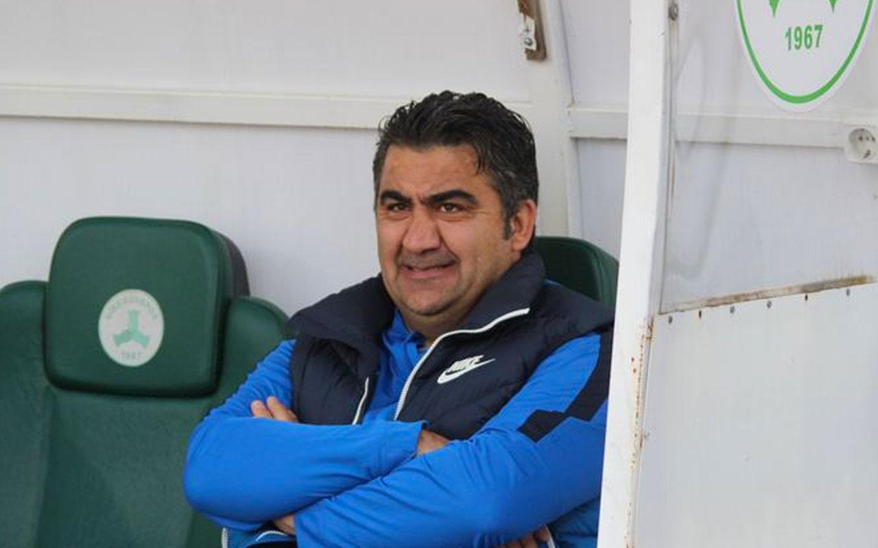 Giresunspor, Ümit Özat'a maç sonuna kadar tepki gösterdi