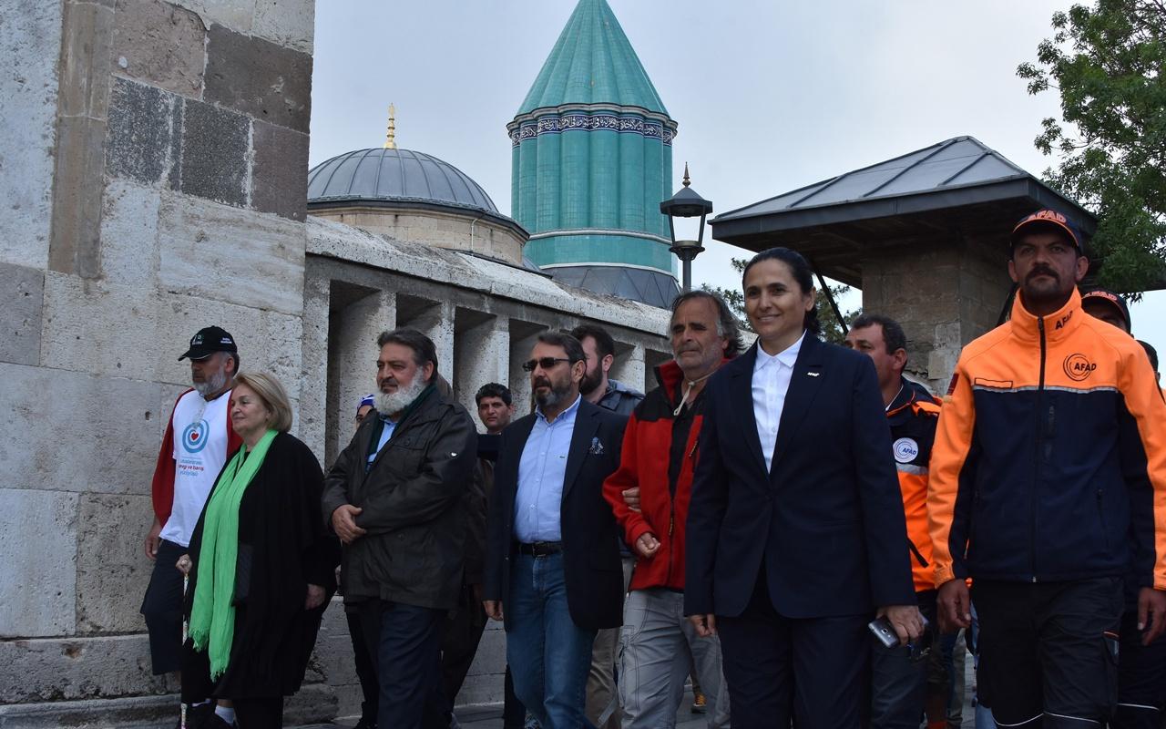 Mevlana'nın Konya'ya göç edişinin yıldönümü! 22. kuşak torunu katıldı