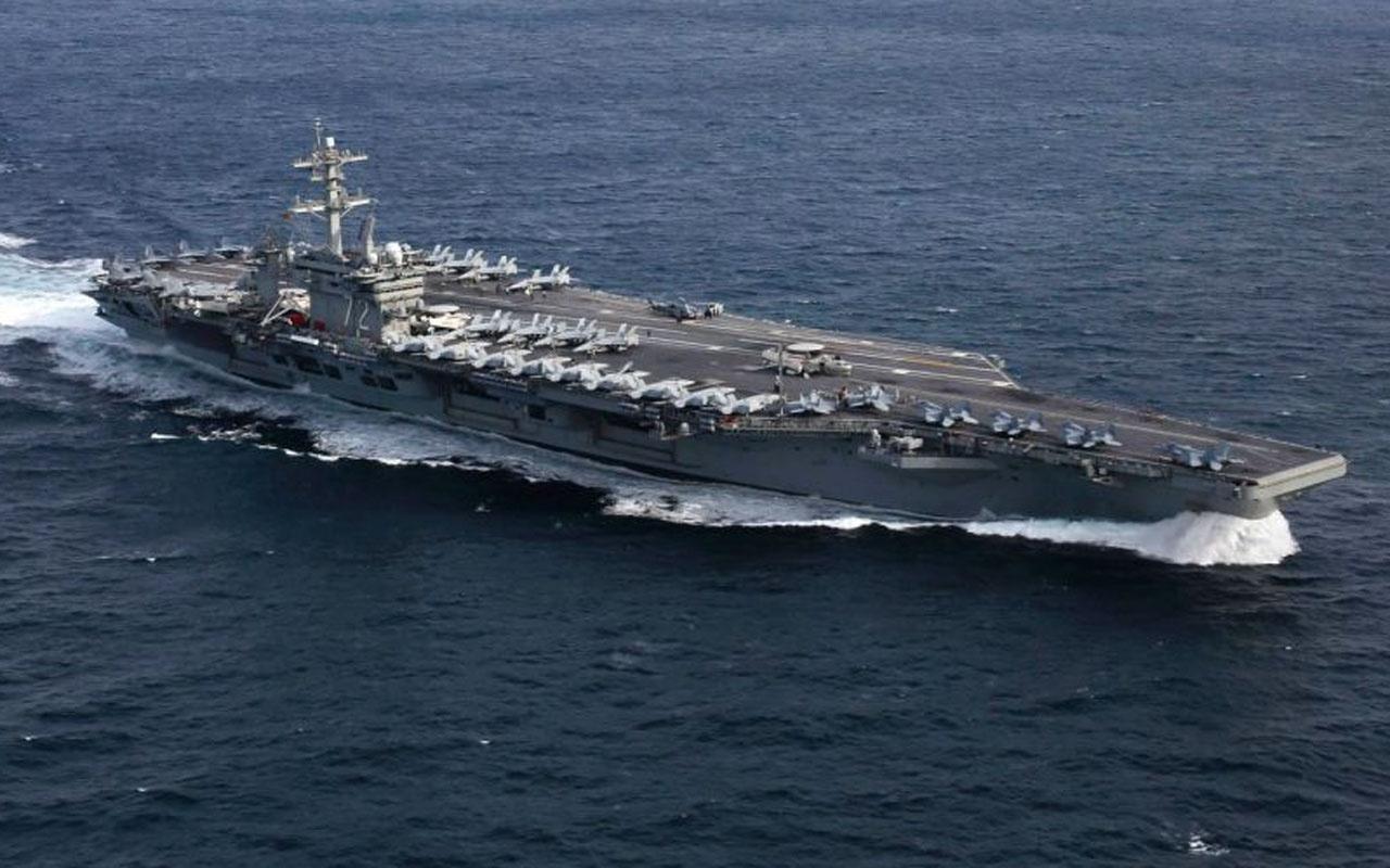 ABD'den İran'a uçak gemisi ile gözdağı