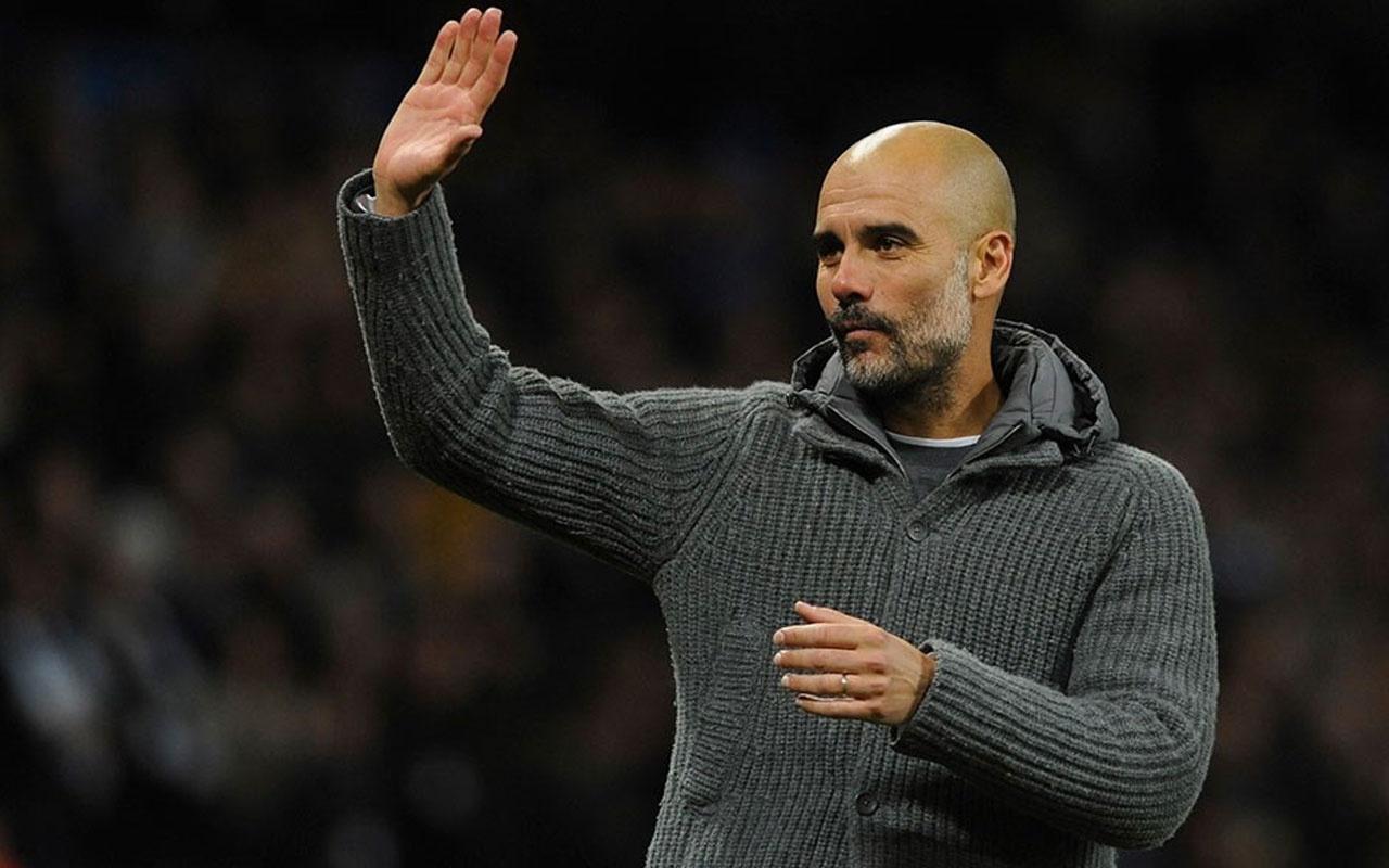 İngiltere'de ayın teknik direktörü Guardiola