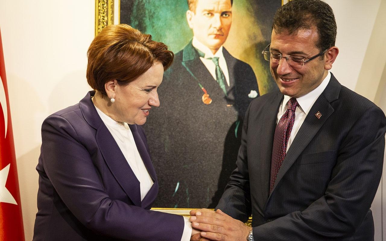Ekrem İmamoğlu Meral Akşener'i ziyaret etti