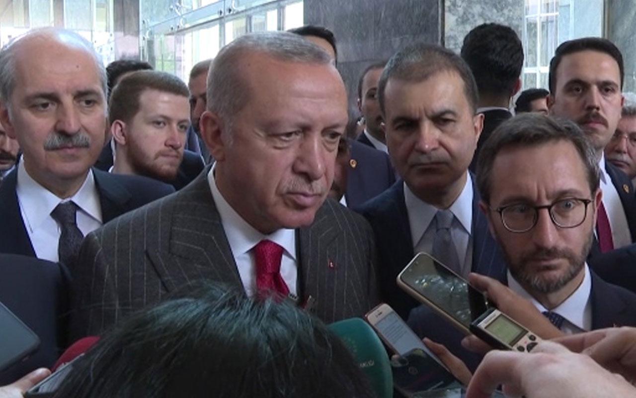 """Erdoğan: """"Çözüm süreci diye bir şey söz konusu değildir"""""""