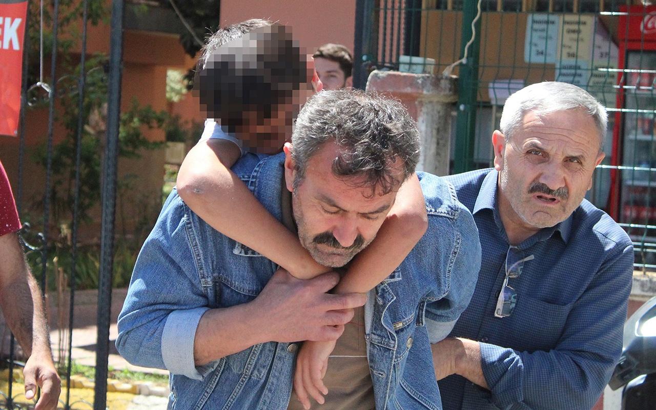 Antalya'da babasının cesedini bulan küçük çocuk şok geçirdi