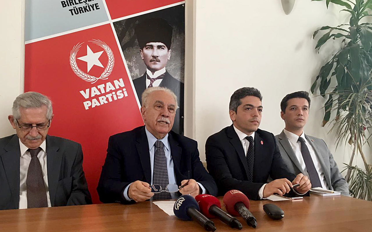 Doğu Perinçek  ''Vatan Partisi'nin İBB adayı Mustafa İlker Yücel'dir''