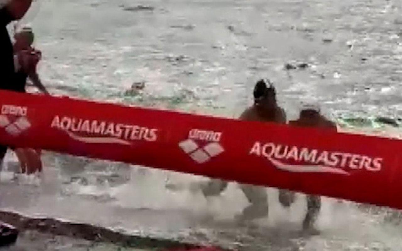Tolga Öcal TT listesine girdi! Yüzme yarışında inanılmaz hareket