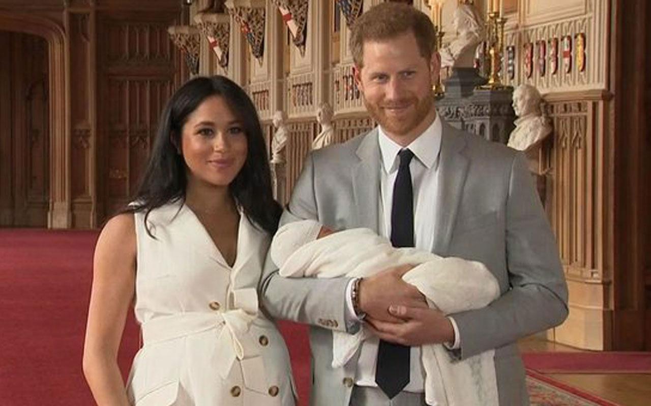Meghan Markle ve Prens Harry'nin bebeğinin görüntüsü
