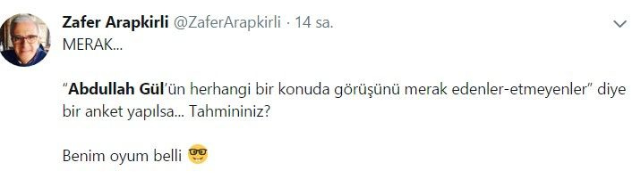 Abdullah Gül ve Ahmet Davutoğlu sosyal medyanın gündemine oturdu - Sayfa 6