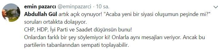 Abdullah Gül ve Ahmet Davutoğlu sosyal medyanın gündemine oturdu - Sayfa 12