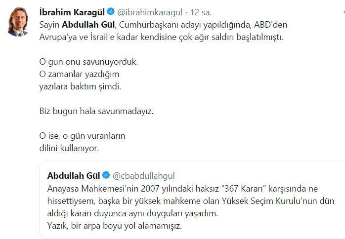 Abdullah Gül ve Ahmet Davutoğlu sosyal medyanın gündemine oturdu - Sayfa 9