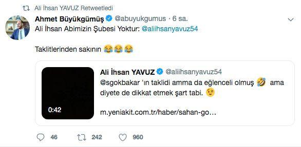 Şahan Gökbakar'ın taklit videosuna AK Partili İhsan Yavuz'dan yanıt - Sayfa 7