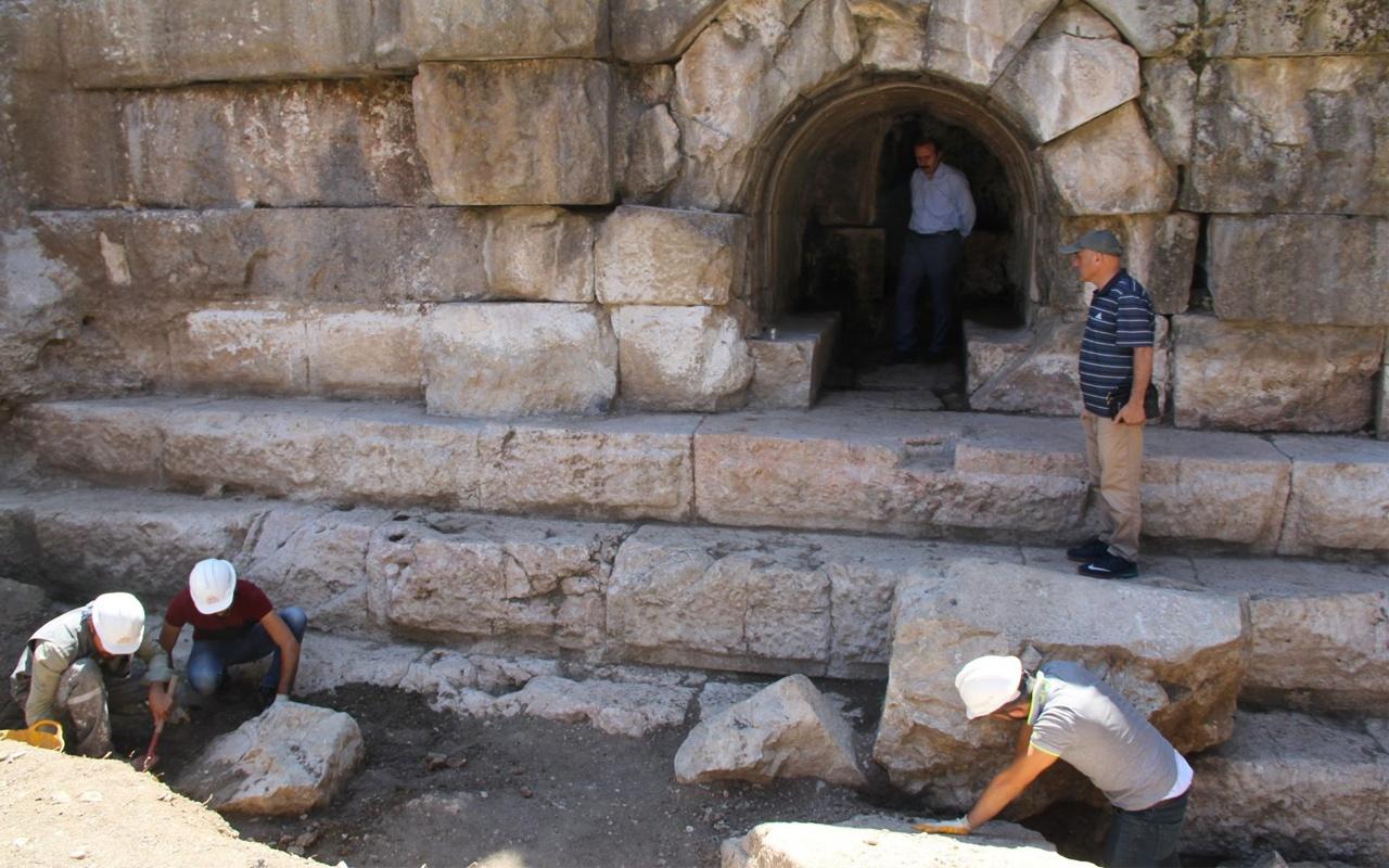 Antik Roma barajı Örükaya kurtarma kazıları yeniden başladı