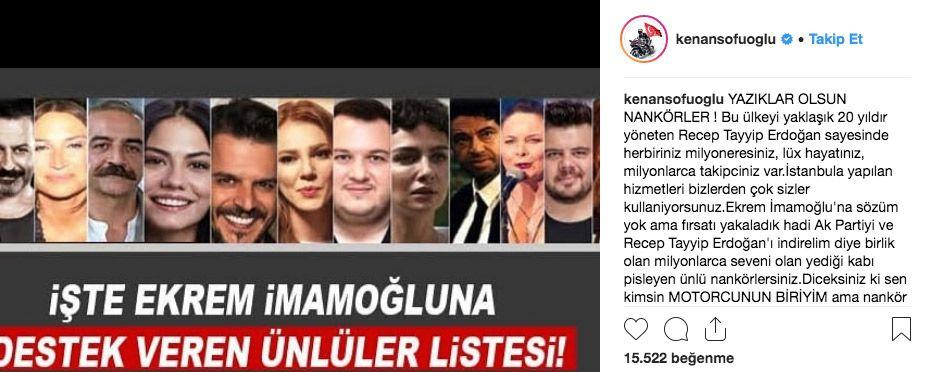 Ekrem İmamoğlu'na destek veren ünlülere Kenan Sofuoğlu'ndan tepki nankörler - Sayfa 10