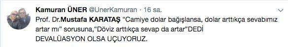 Mustafa Karataş'ın 'dolar' sorusuna verdiği cevap sosyal medyayı salladı - Sayfa 6