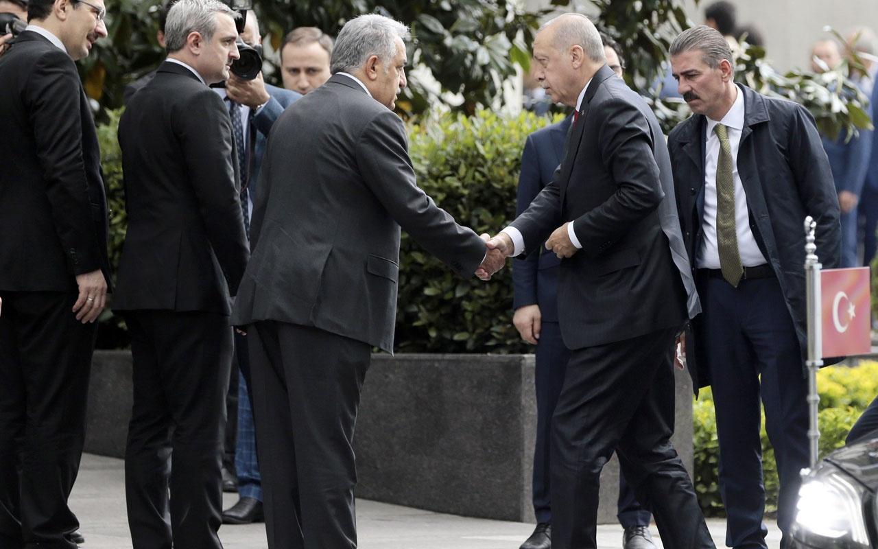 Erdoğan başkanlığında İBB seçimine ilişkin toplantı gerçekleştiriliyor