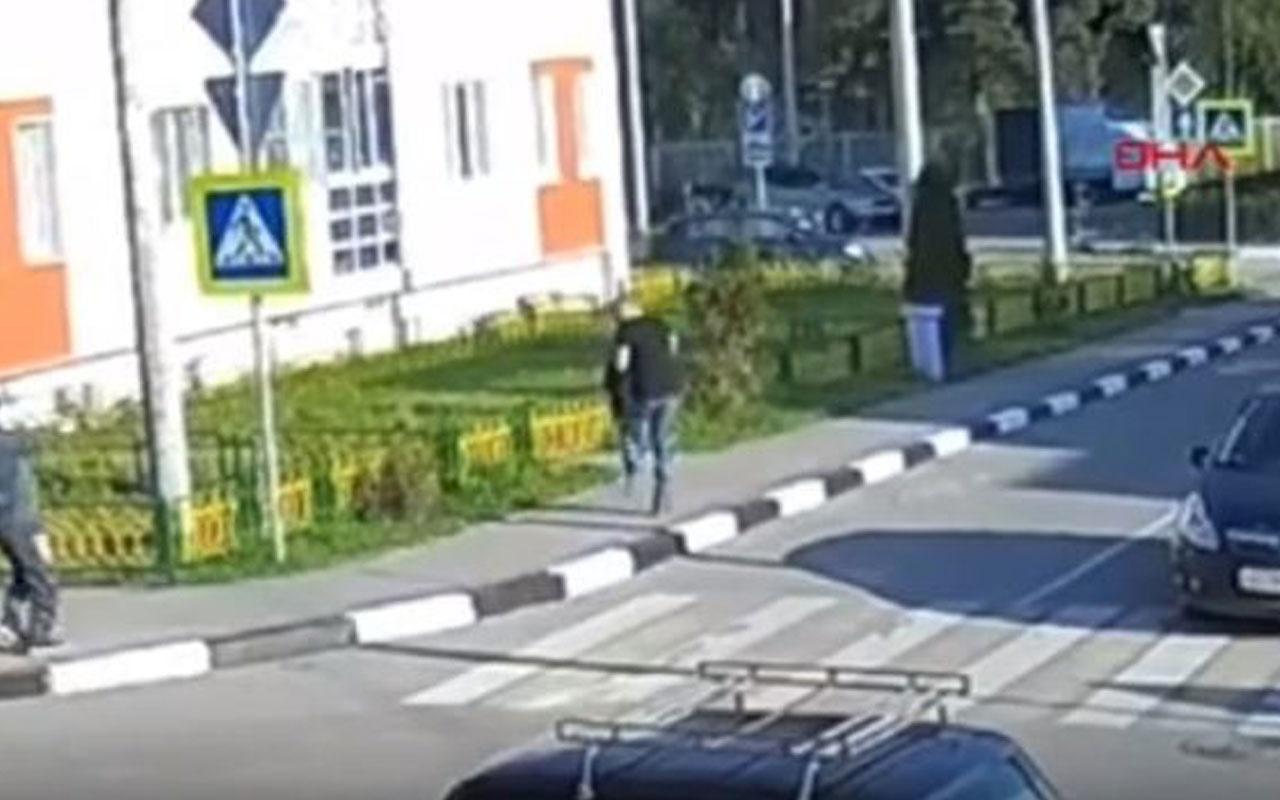 Rusya'da silahlı saldırıya uğrayan iş adamı canını zor kurtardı