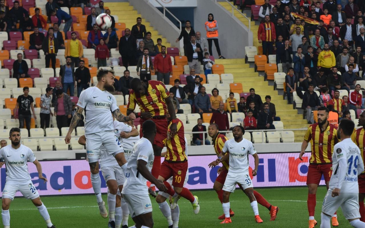 Yeni Malatyaspor BB Erzurumspor maçı golleri ve geniş özeti