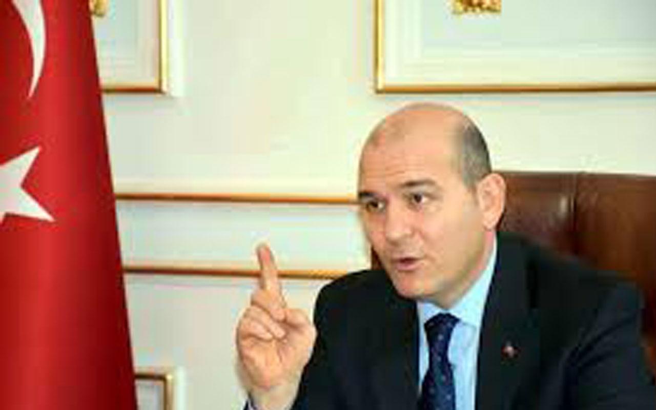 Süleyman Soylu: Bugün İstanbul'u veren, hukuksuzlukla beraber yarın Türkiye'yi verir