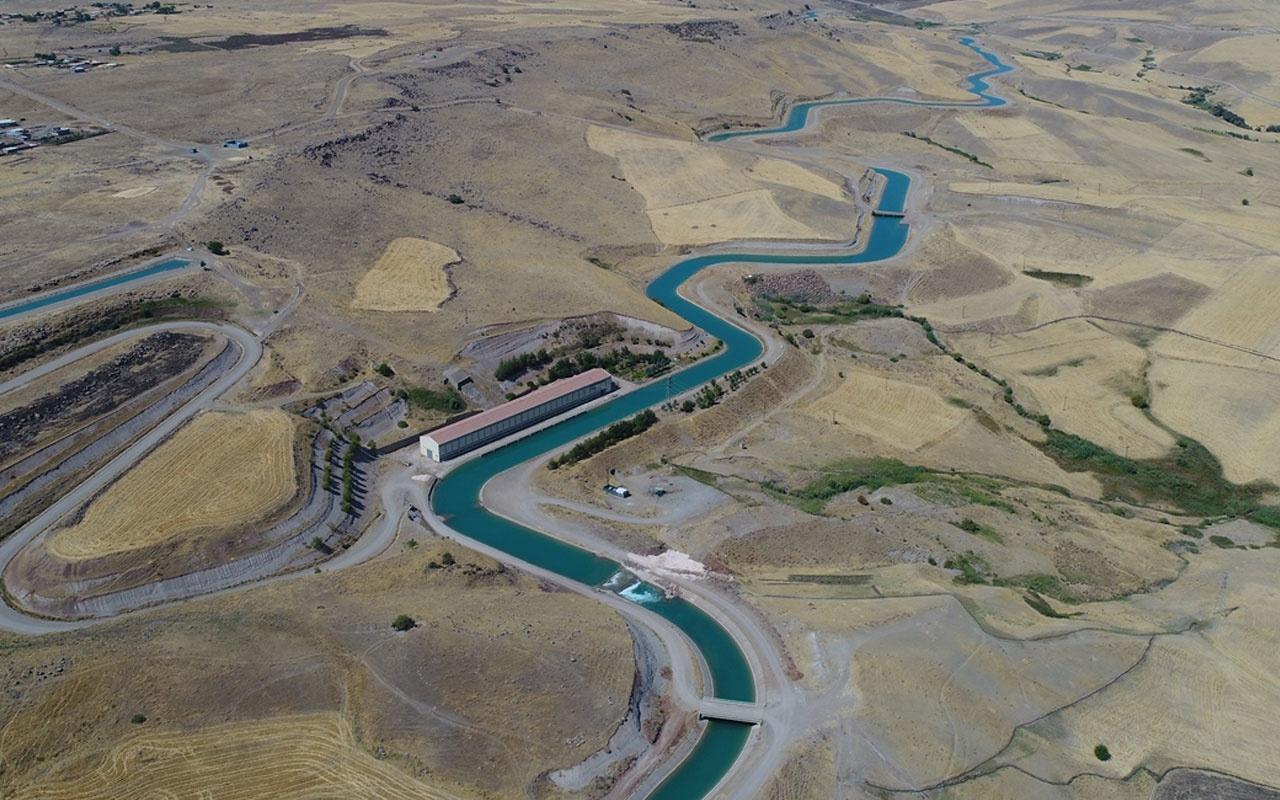 Diyabakır'daki yapay nehirde geri sayım 450 bin kişiye istihdam