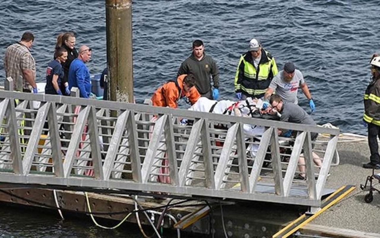 ABD'de deniz uçakları havada çarpıştı: Ölü ve yaralılar var