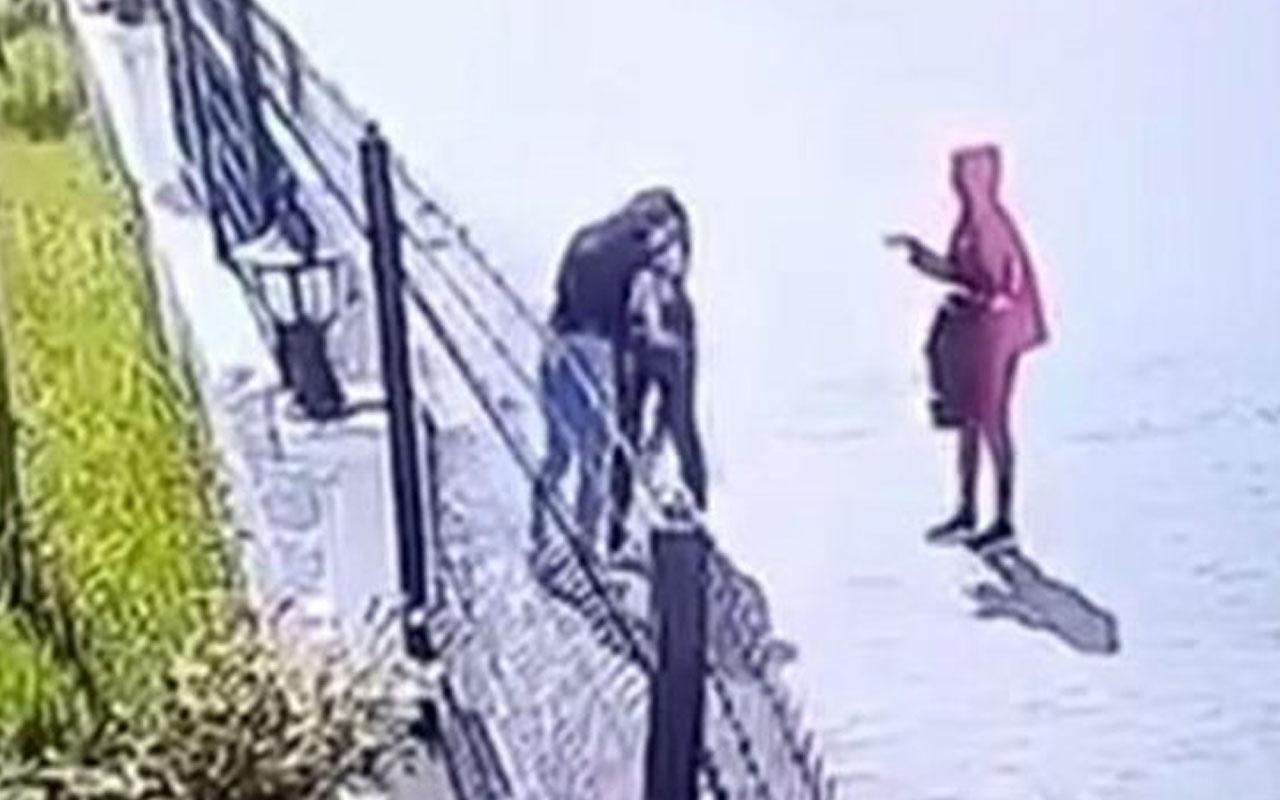 Diyarbakır'da kızların şoke eden kavgası! Tekme tokat saldırdı