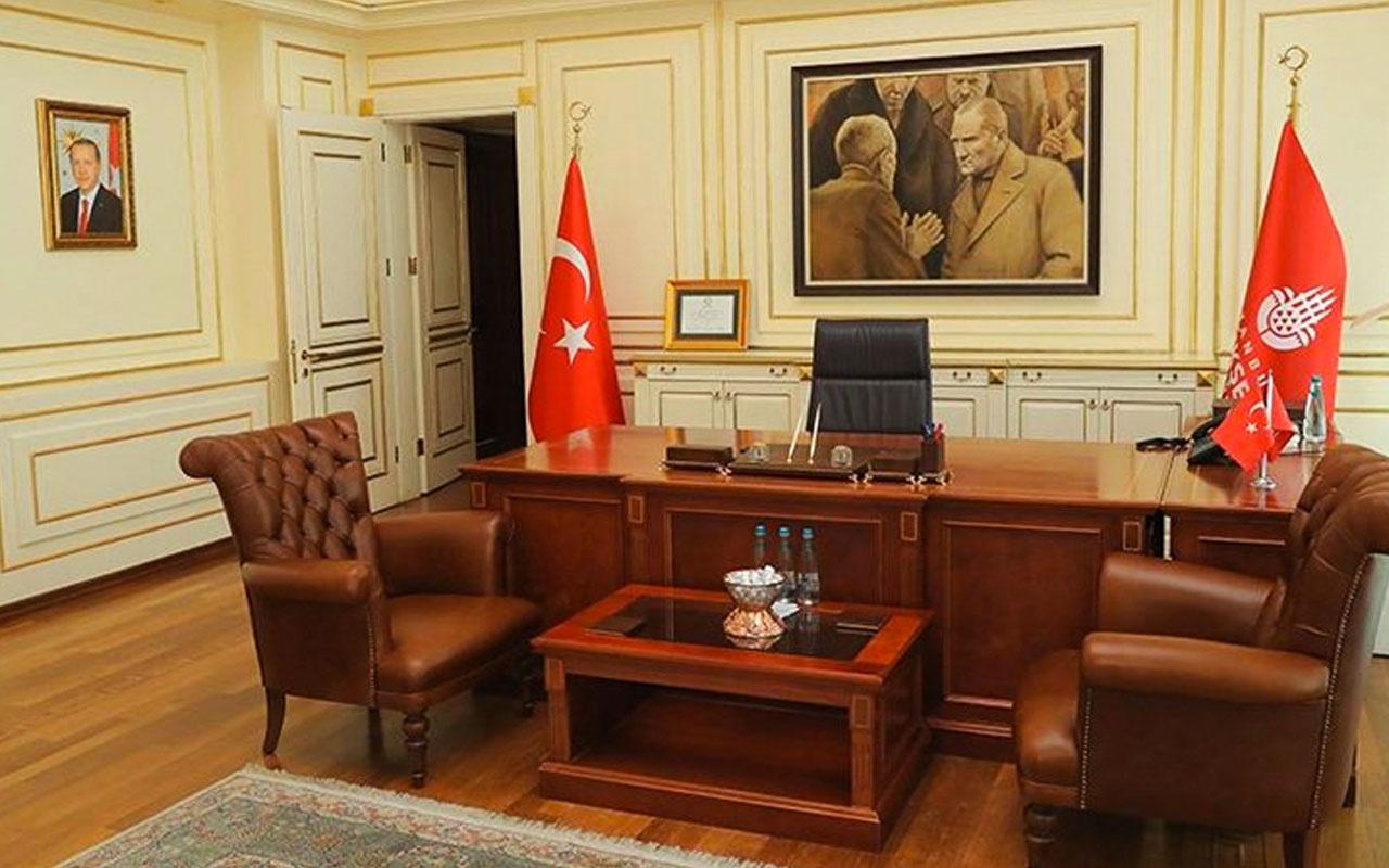 İBB'deki Atatürk tablosunu Ekrem İmamoğlu'nun ekibinin indirdiği ortaya çıktı