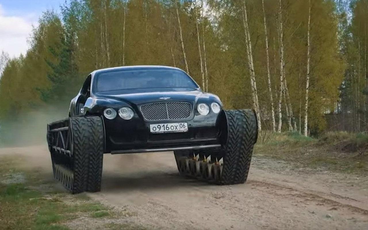 Rus yapımı dünyanın en lüks tankı: Ultratank Bentley Continental GT