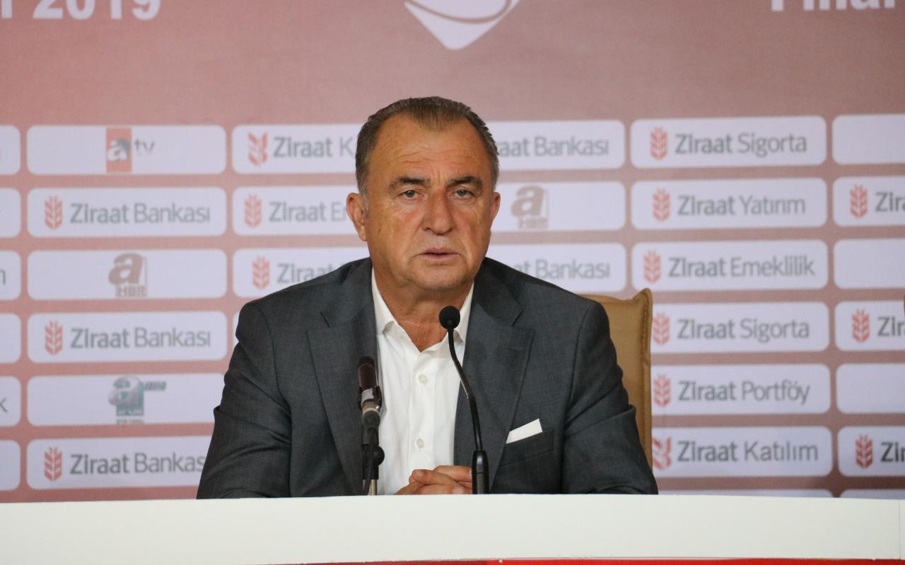 Fatih Terim'den Radamel Falcao açıklaması: Antrenmana bile çıkmıyor