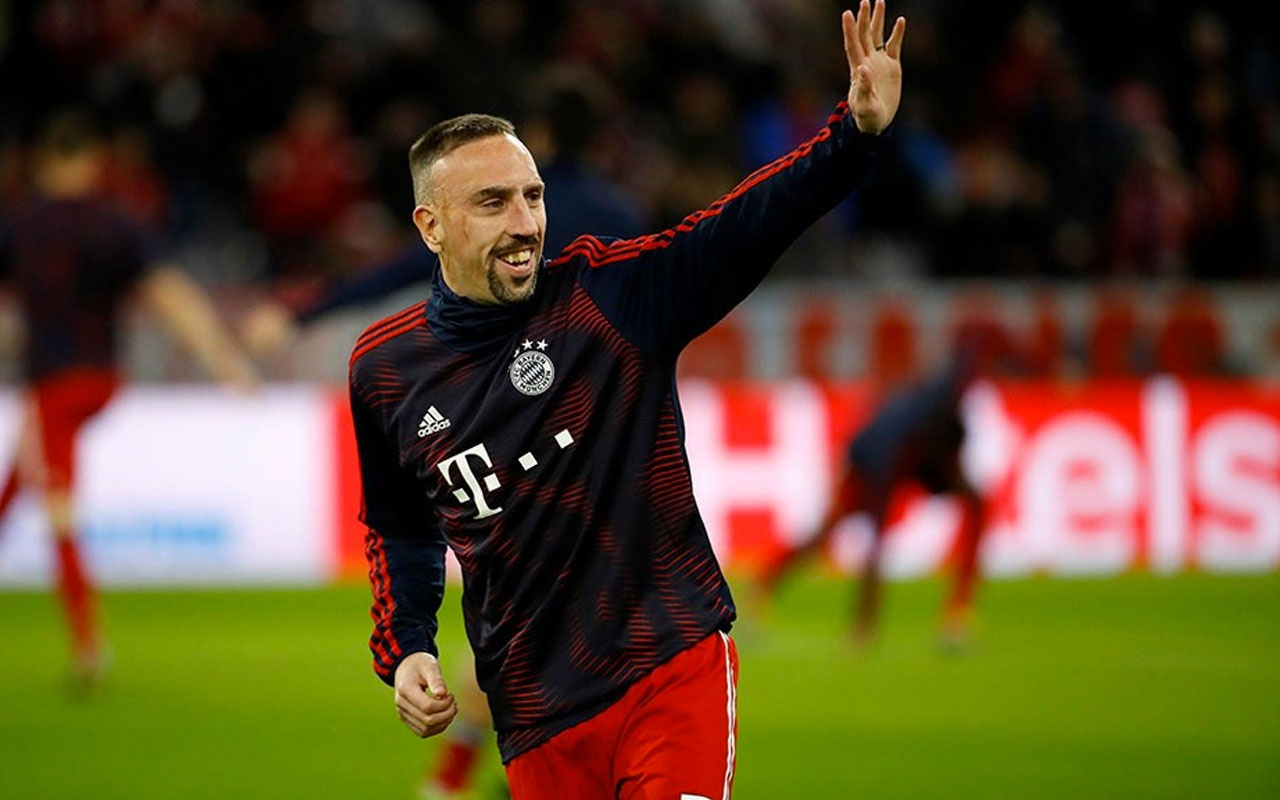 Franck Ribery'den Galatasaray'a mesaj