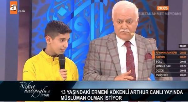 Ermeni çocuğun canlı yayında Müslüman yapılması! Hatipoğlu'ndan açıklama - Sayfa 5