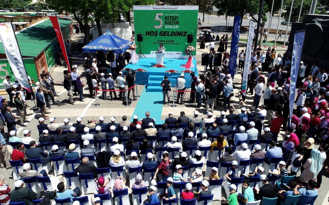 Güneydoğu'nun en büyük Kitap ve Kültür günleri Gaziantep'te başladı