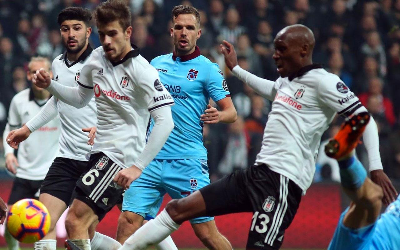 Beşiktaş, Trabzon deplasmanında