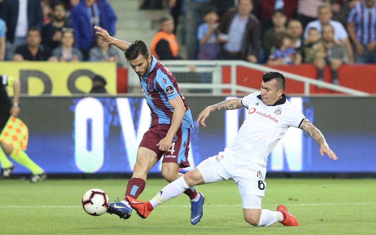 Trabzonspor - Beşiktaş maçı özet ve golleri