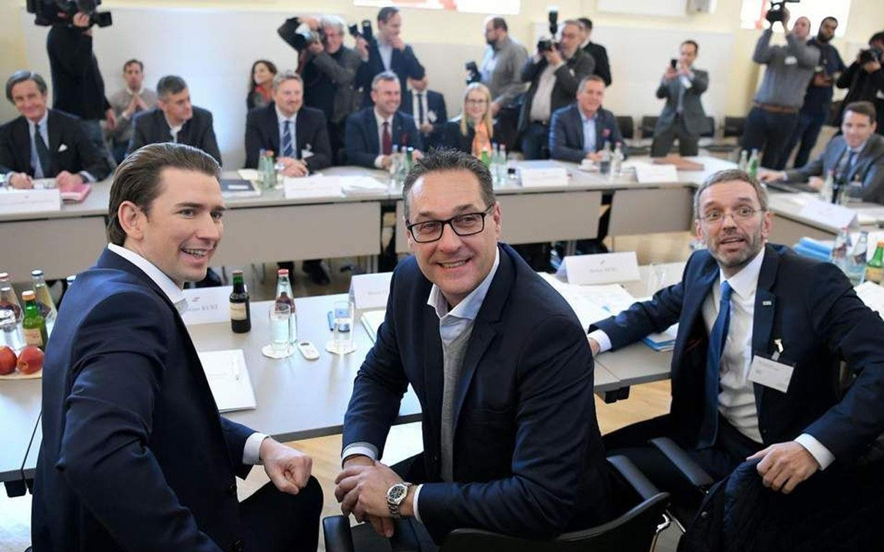 Avusturya'da hükümeti yıkan Heinz Christian Strache'nin Rus kadınla ilişki görüntüleri