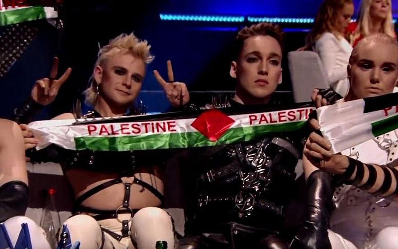 """Eurovision Şarkı Yarışması'nda Madonna ve İzlanda'dan """"Filistin"""" protestosu"""