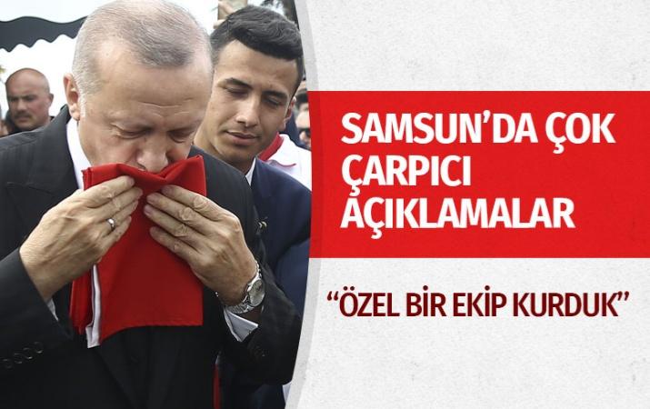 Cumhurbaşkanı Erdoğan'dan 19 Mayıs töreninde kritik açıklamalar!