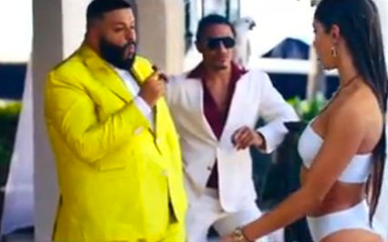 Nusret DJ Khaled'in klibinde oynadı kestiği et sahnesi olay