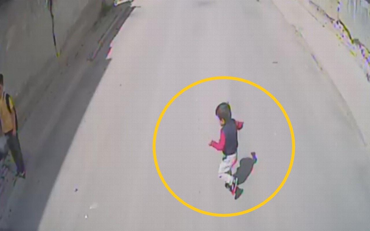 Bursa'da 4 yaşındaki Yasin otobüsün altında böyle kaldı