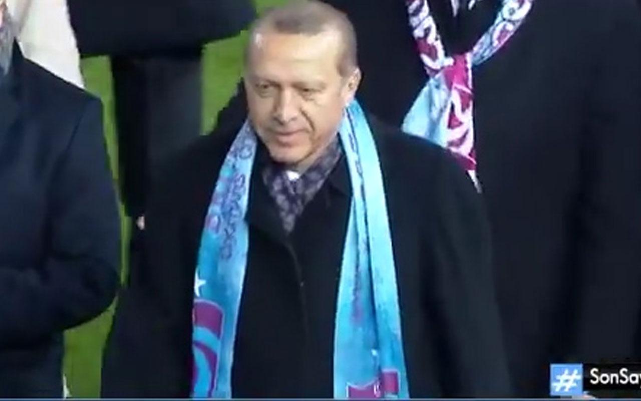 Erdoğan devreye girdi Trabzonspor cezadan yırttı