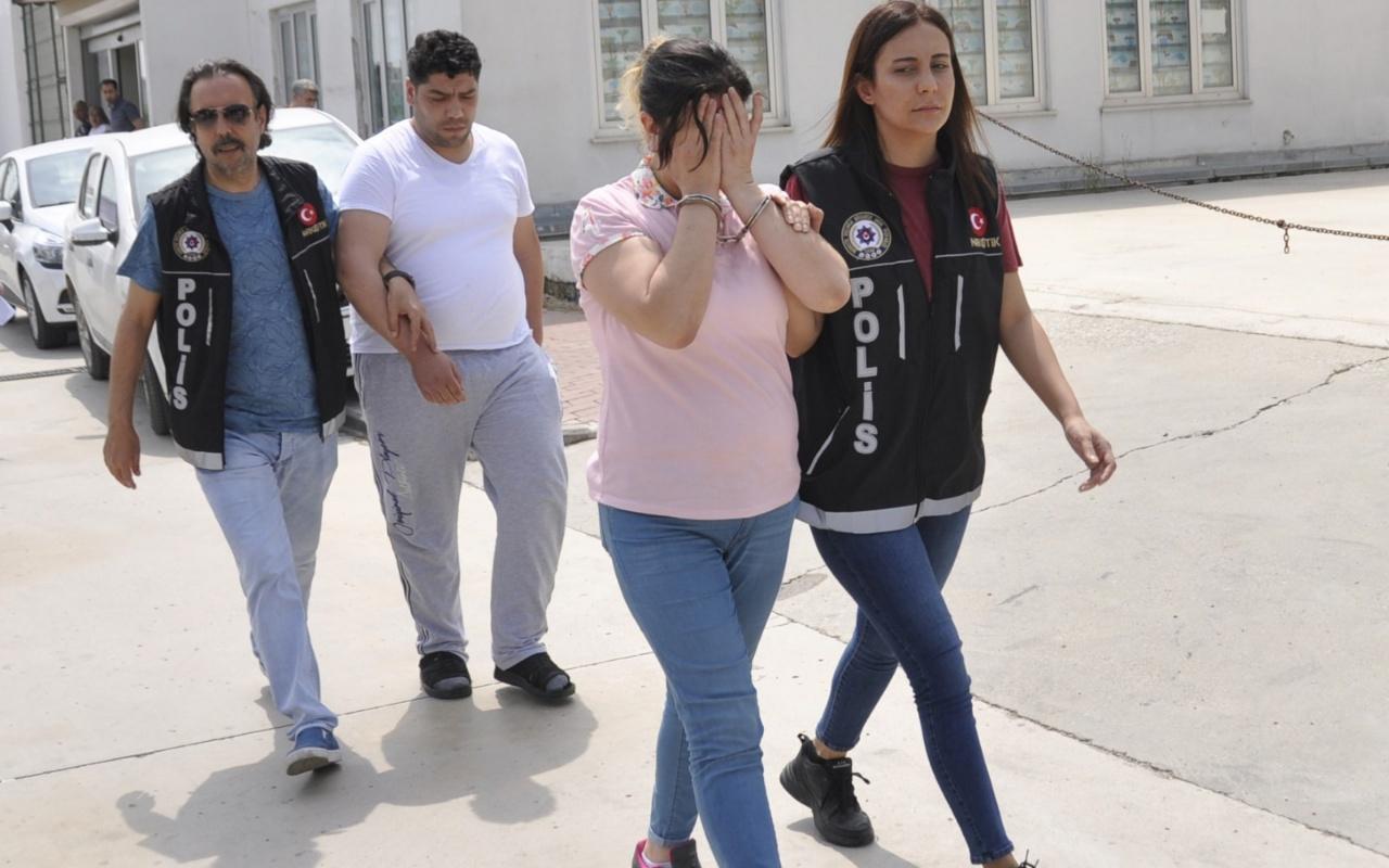 Adana'da uyuşturucu ticareti yapan iki kişi tutuklandı