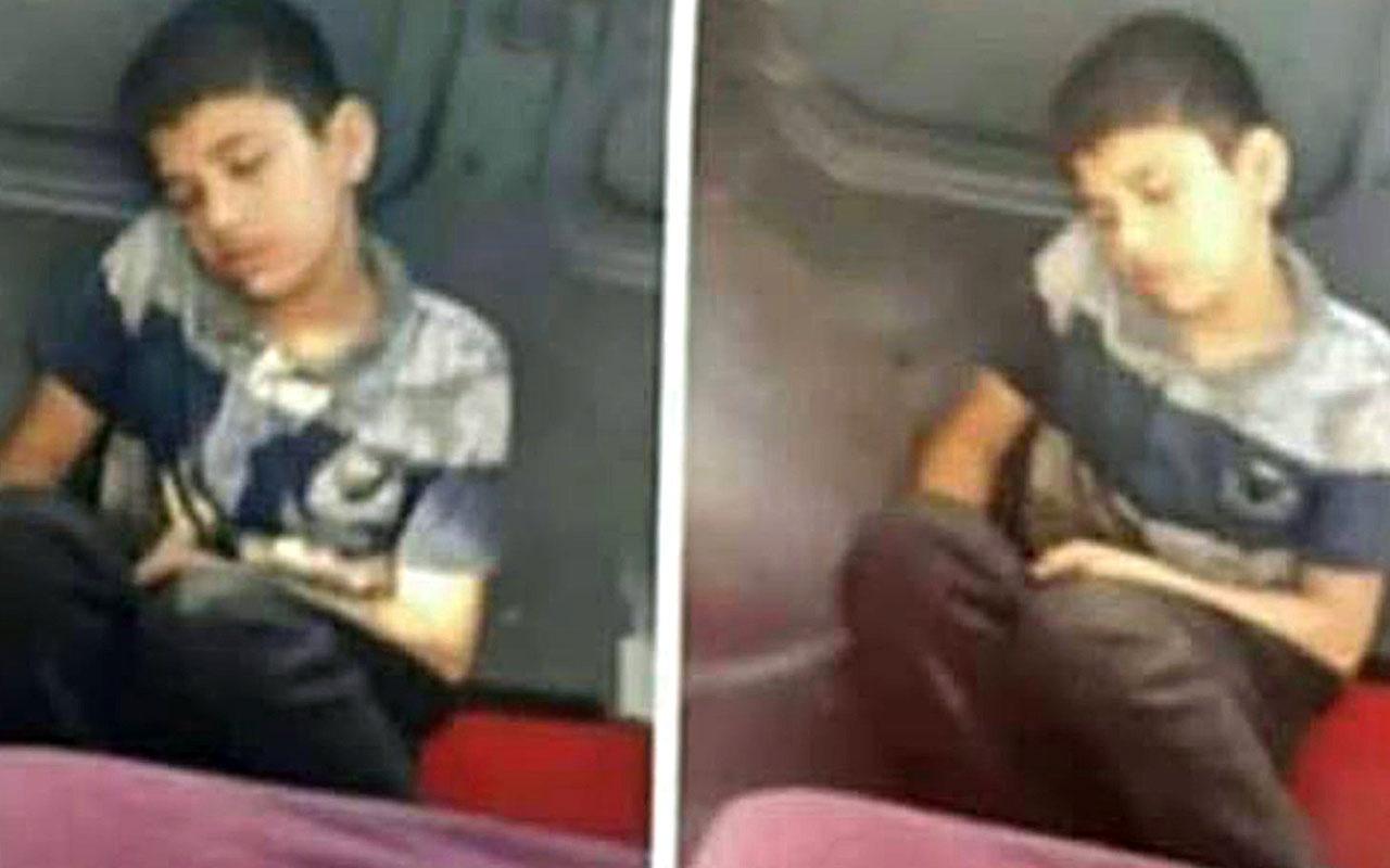 Mersin'de çocuğu üzeri kirli diye minibüs koltuğuna oturtmadılar