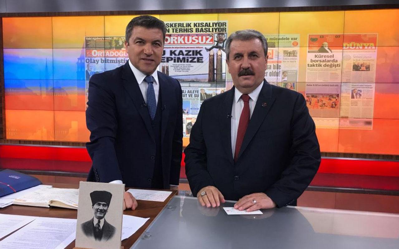 Mustafa Destici'den Abdullah Öcalan çıkışı