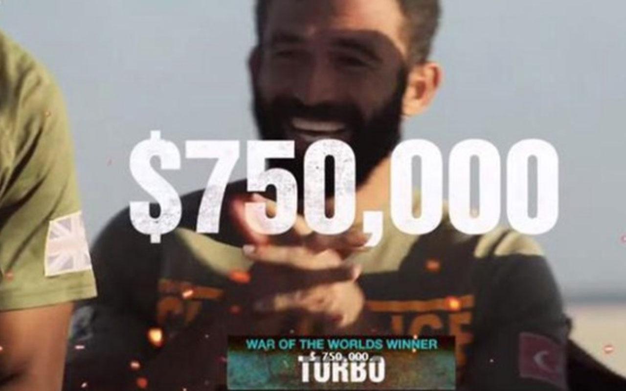 Turabi ABD'deki War of the Worlds yarışmasından 750 bin doları kazandı