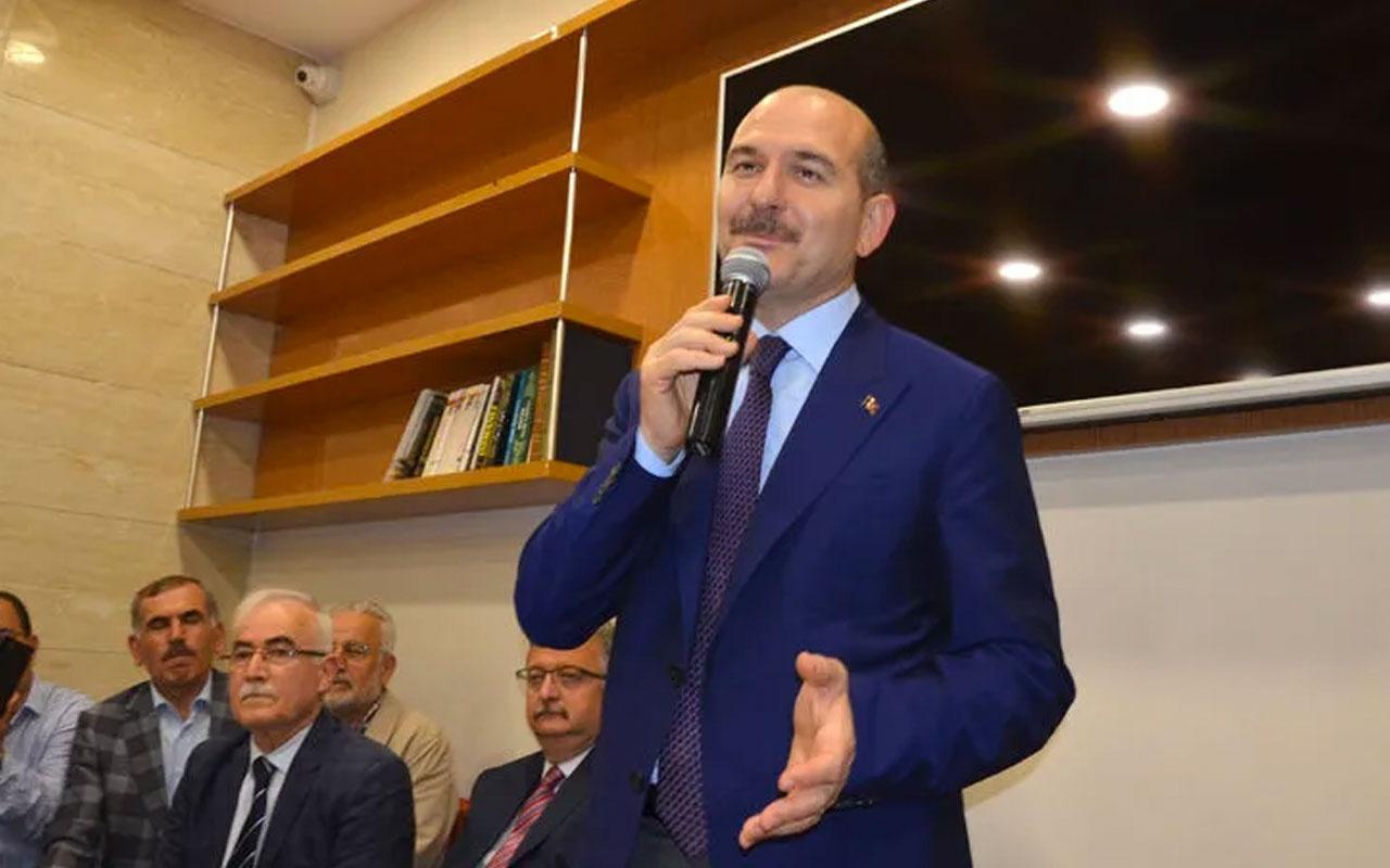Süleyman Soylu'dan Ekrem İmamoğlu'na uyarı: Bana laf söylerken dikkatli ol
