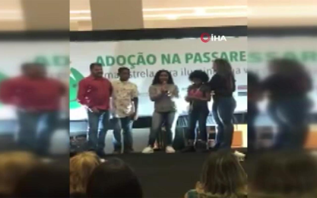 Brezilya'da insanlıktan utandıran görüntüler