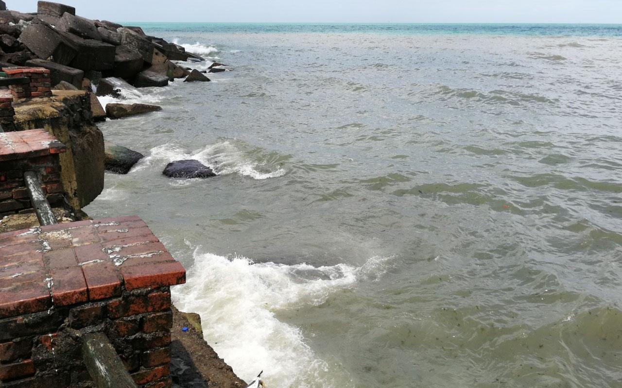 Karadeniz'de şaşırtan görüntüler rengi değişti