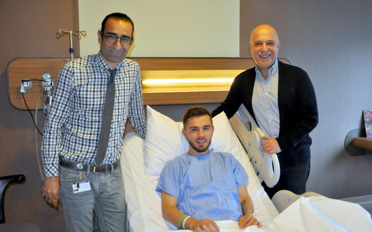 Sivassporlu Emre fıtık ameliyatı oldu