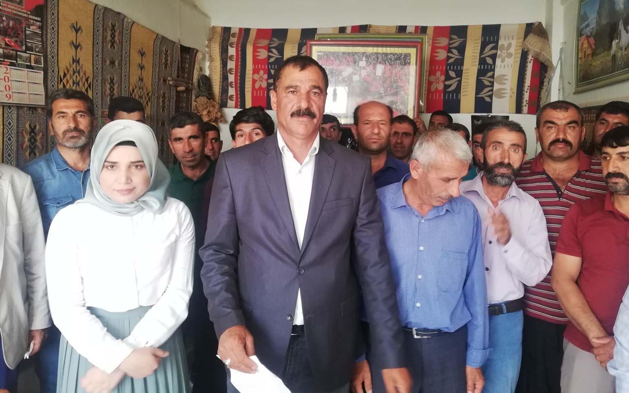 HDP'li belediyeden şehit yakınlarına eziyet