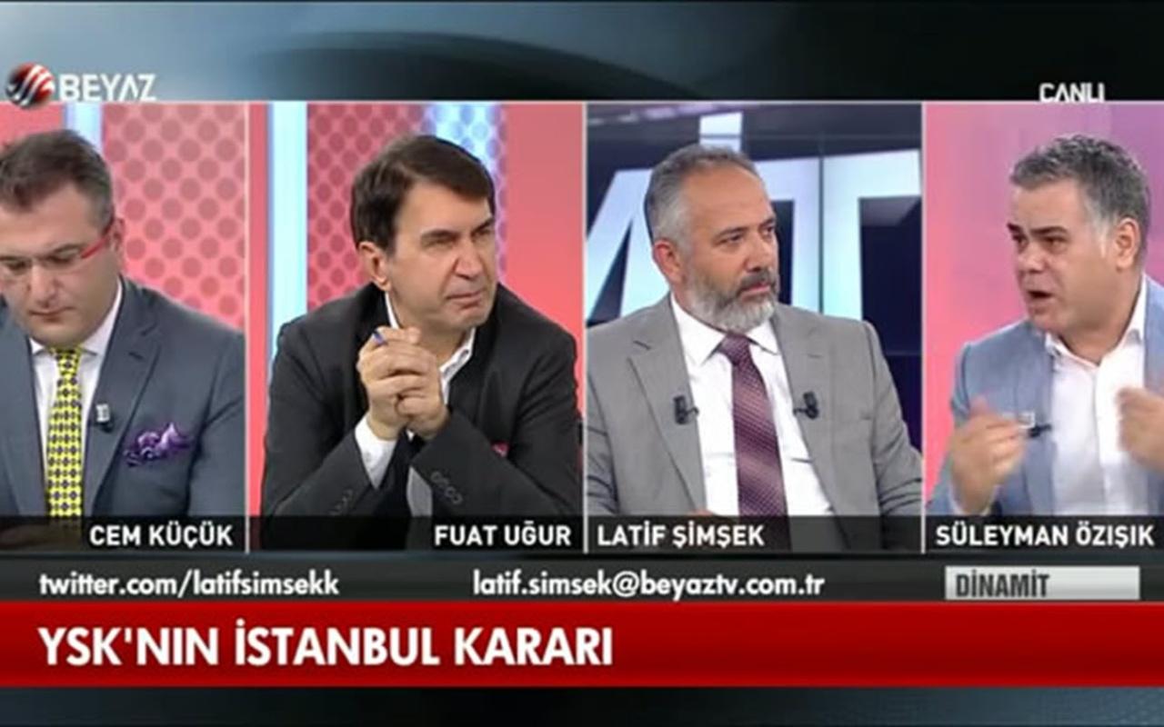 Süleyman Özışık'tan YSK tartışmalarına banka ve para örneğiyle müthiş cevap